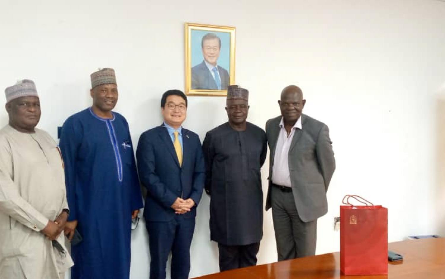 Korean Embassy To Build Gymnasium in Unijos